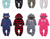 2018 New Limited Cotton Unisex  Romper  Overalls One Piece  Autumn Winter Baby Clothes  Newborn Girl Boy 1