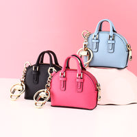 MILESI Fashion Bag Pendant Women Keychain Originality Mini Shell Bags Hang Lady Handbag Decoration Accessories mp373