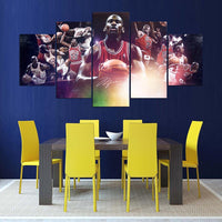 NBA Star Michael Jordan HD Canvas Painting Picture Wall Art Poster for Living Room Home Decoration