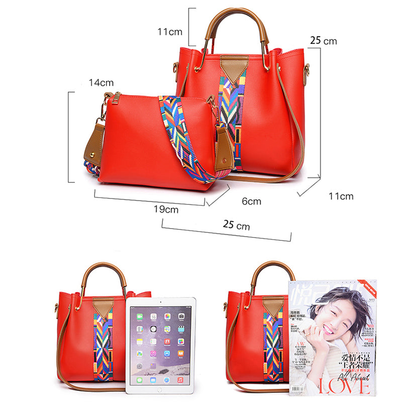 SHENGDIYAGE 2pcs 2018 baobao Women Shoulder bag bolsa feminina