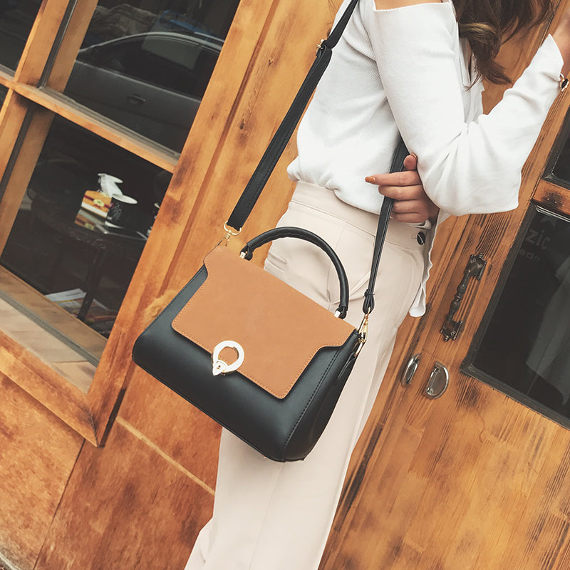 Leather Handbag High Quality Tassel Tote