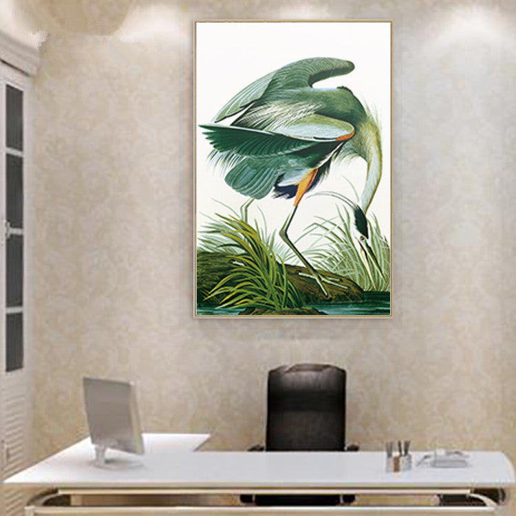 canvas painting print wall art poster vintage posters prints animal picture American flamingo for living room decor