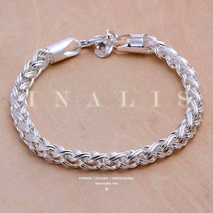 Bracelets 925 Sterling Silver Classical Twist Chain