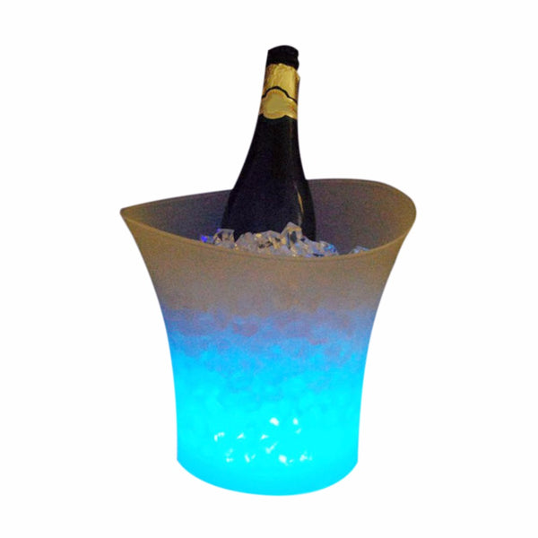 LED Ice Bucket Color Changing LED Light Up Champagne Beer Bucket