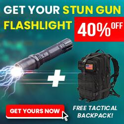 Shockwave Torch + Free Tactical Backpack