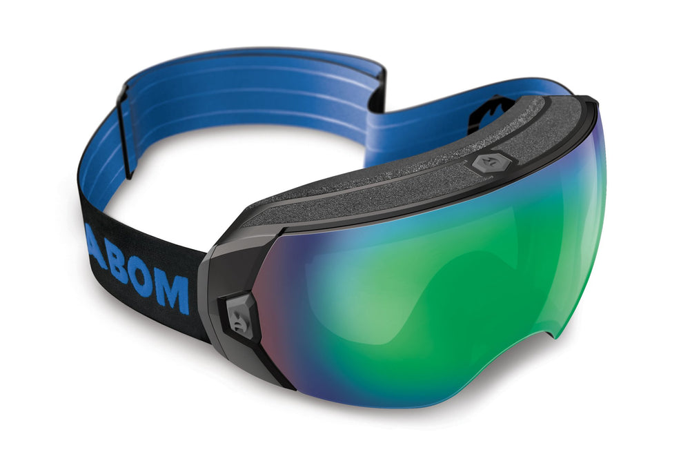 Abom HEET Goggle Flash Green Mirror