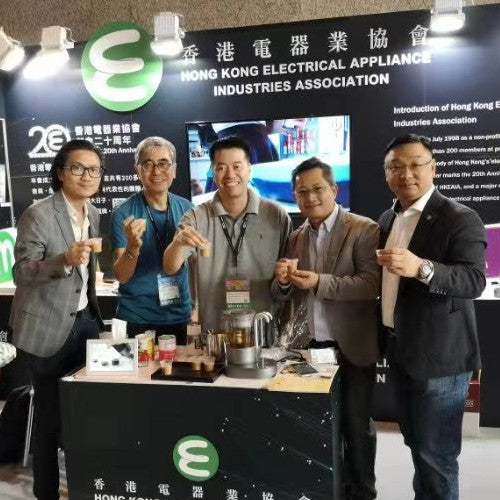 Qi Aerista Tea & Coffee Time at the Hong Kong Electronics Fair