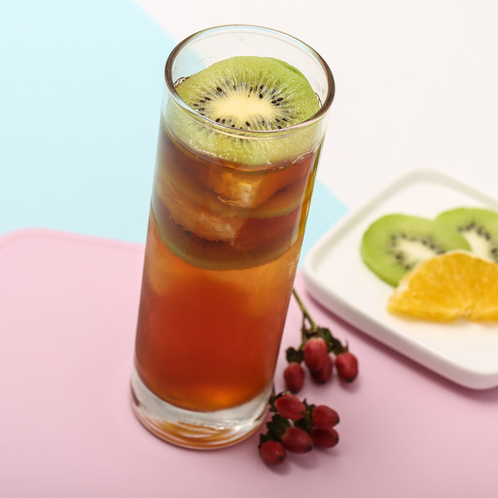 Iced Fruity Vodka Tea