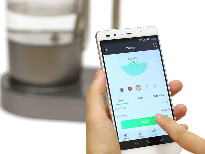 Connecting Qi Aerista IoTea Brewer with the App