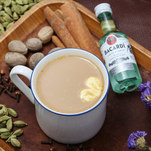 How to Brew Buttery Rum Chai