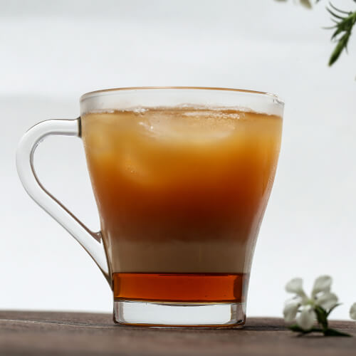 How to Brew Maple Syrup Iced Tea