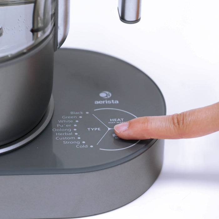 Turning on the Smart Brewer
