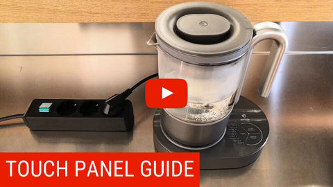 How to operate Qi Aerista tea maker