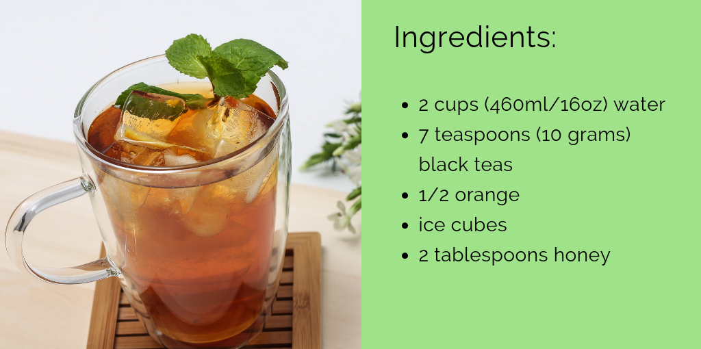 Cold Brew lemon tea