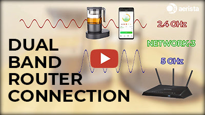 How to Connect Your Qi Aerista to a Dual-Band Wi-Fi Router
