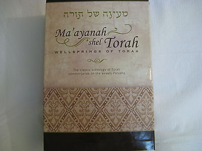 Maayanah Shel Wellsprings Of Torah Alexander Zusia Friedman Judaica English