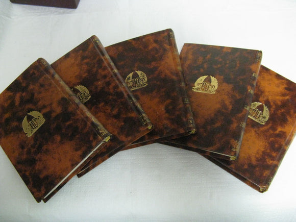 5 Vol. Pocket Set Hebrew Bible English Translation Judaica Sinai 1965 Haftoroth