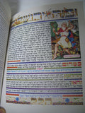 Vintage Haggadah Arthur Szyk Cecil Roth Double Sided Pages Art Better Condition