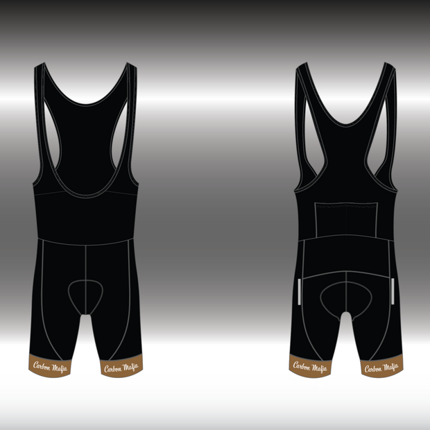 MENS CYCLING BIB SHORTS - CAFE RACER
