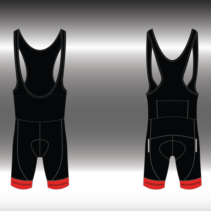 WOMENS CYCLING BIB SHORTS -  GTR