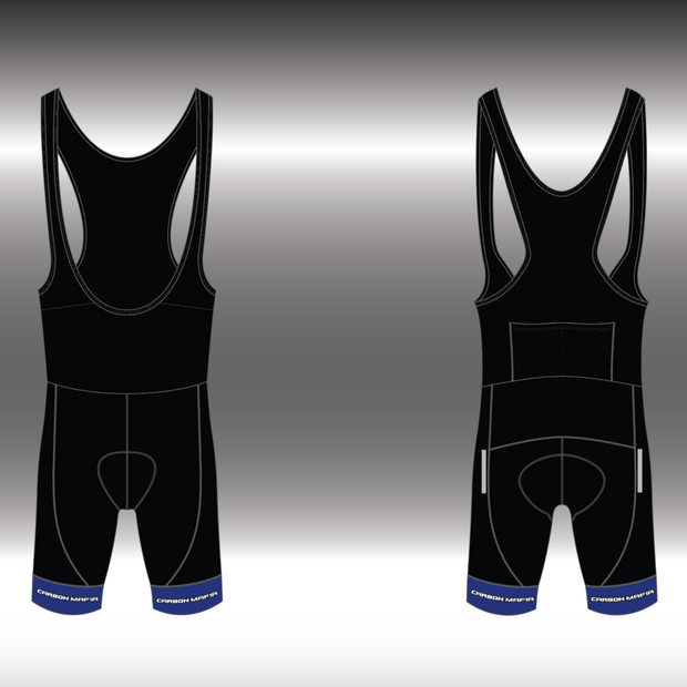 MENS CYCLING BIB SHORTS - GT RACER