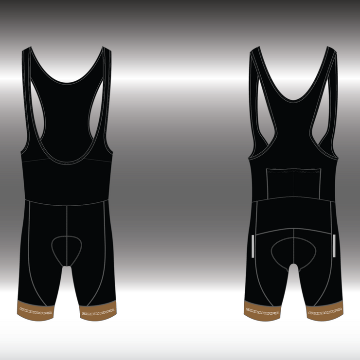 WOMENS CYCLING BIB SHORTS -  JAVA CELL