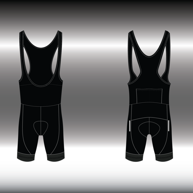 WOMENS CYCLING BIB SHORTS -  STREET RACER