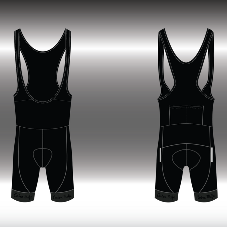 MENS CYCLING BIB SHORTS - STREET RACER