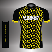 WOMENS CYCLING JERSEY - FLURO YELLOW CELL