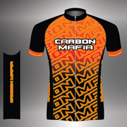 Mens lava cell cycling jersey