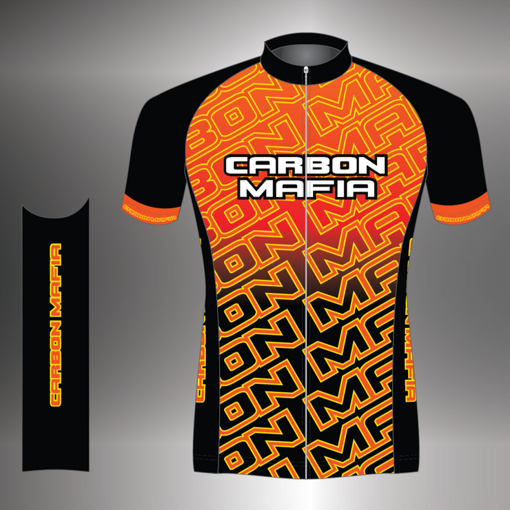 WOMENS CYCLING JERSEY - LAVA CELL