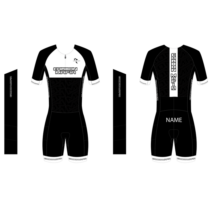 MENS TEAM MID SLEEVE TRI SUIT