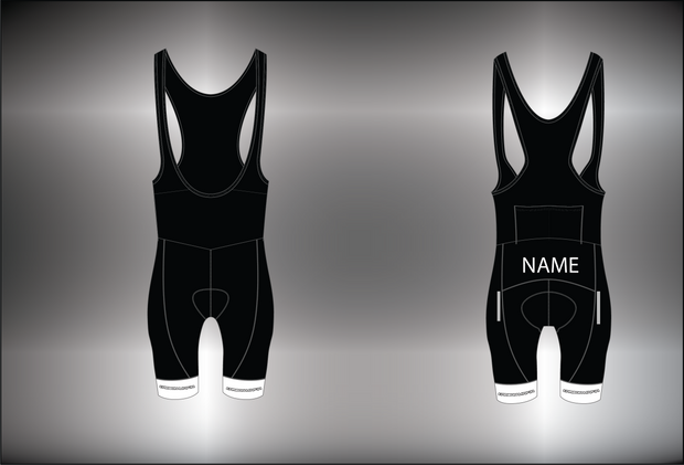 WOMENS TEAM CYCLING BIB SHORTS