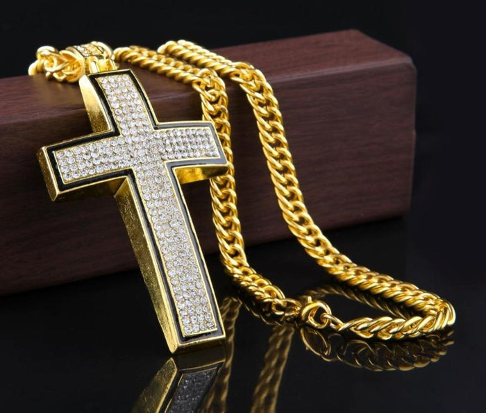 Crucifix Pendant Necklace - OGClout