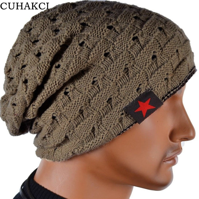 New Fashion Chunky Knit Beanie - Warm Unisex Hat - OGClout