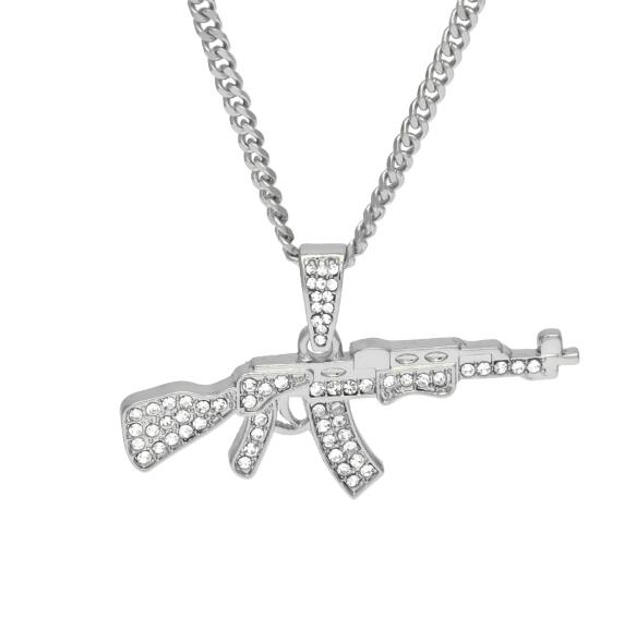 AK-47 Pendant Necklace - OGClout