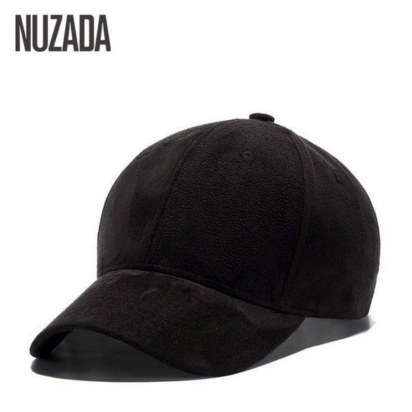 Suede Baseball Caps High Grade Cotton Hip Hop Cap Hats Bone Snapback