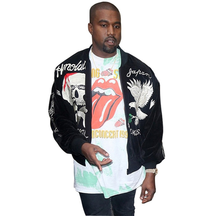 AmberHeard Autumn Winter Kanye West Men  Bomber Jacket - OGClout