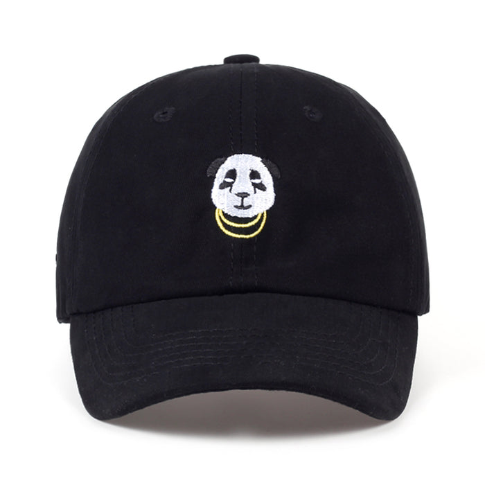 Gold Chains Panda Dad Hat - OGClout