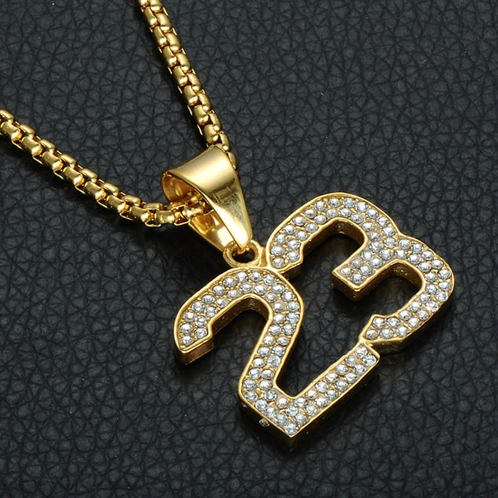 Michael Jordan 23 Pendant Necklace - OGClout