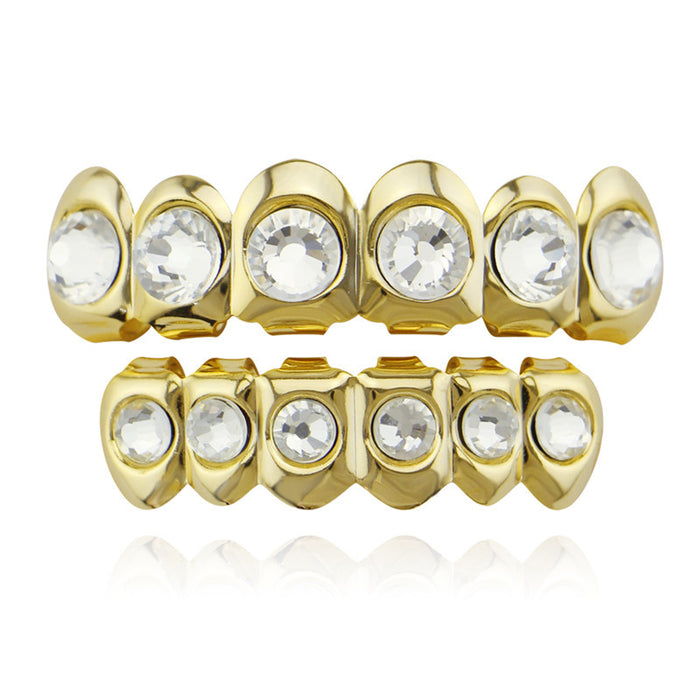 Hip Hop Gold  identity Teeth Grillz Mouth Jewelry - OGClout