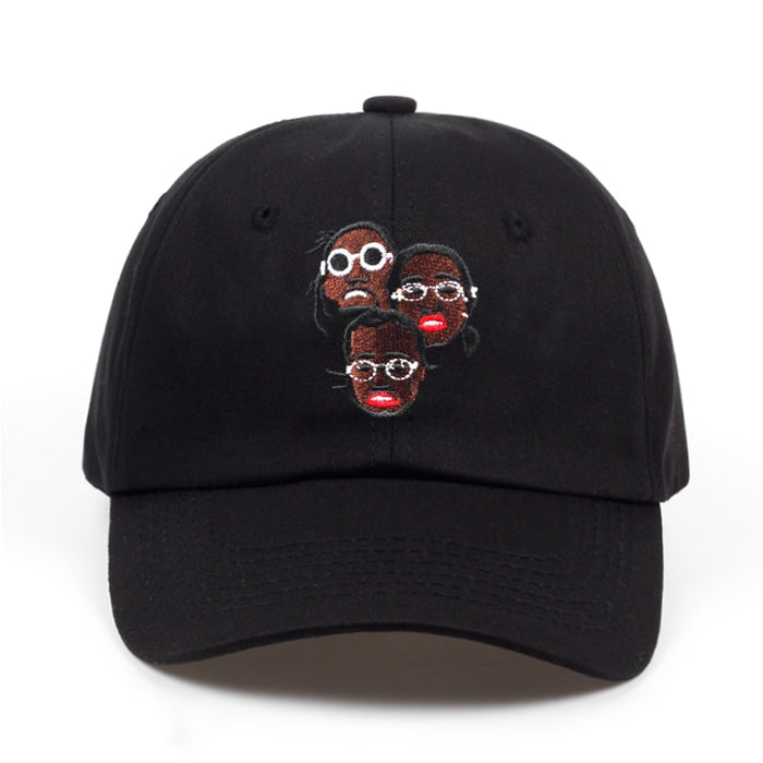 Migos 100% Cotton combination dad hat