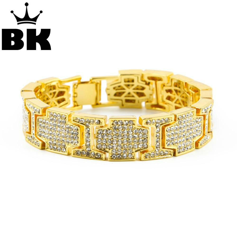 High Quality Rappers Style iced out Bracelet - OGClout