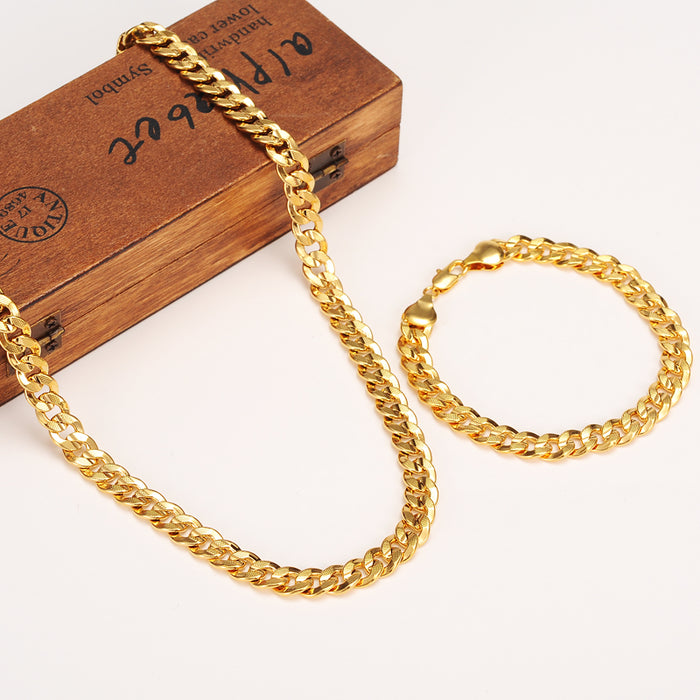 Gold Plated Chain and Bracelet - OGClout
