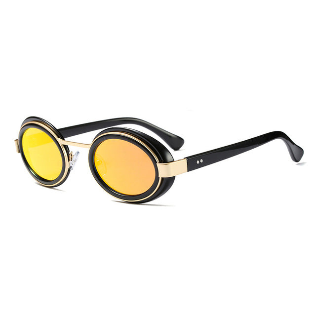 New Fashion Clout Glasses HD Lens UV400 High Quality Oval Shape Sunglasses-Men Women - OGClout