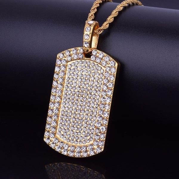 Mens Trendy Iced Out  Cuban Chain - OGClout