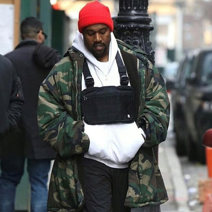 Kanye West Cool Boy Cross Shoulder Bag - Casual  Chest Bag