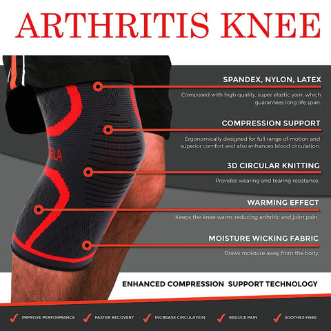 Ultra Compression Sleeve Knee Arthritis