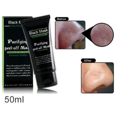 Suction Face Mask Deep Cleansing Face Mask Black Head Tearing Style Resist Strawberry Nose Acne Remover Blackhead Mud Masks - BigSaver.com