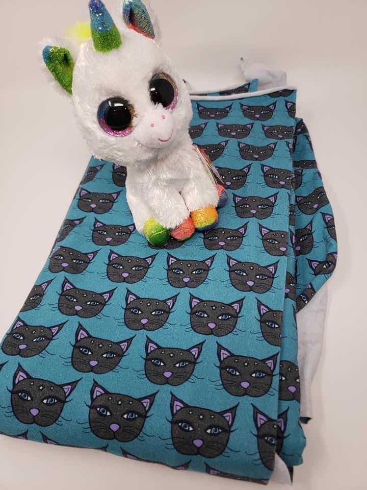 PreOrder Teal Kitty/small scale Tootsies